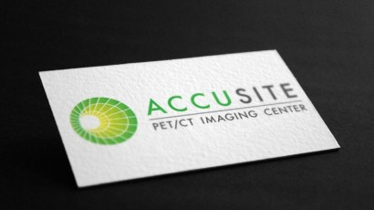 Accusite PET/CT Logo/brand Design
