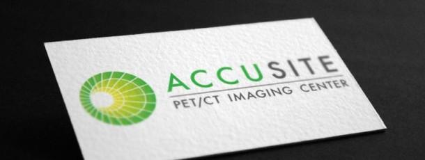 Accusite PET/CT Logo/brand Design